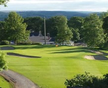 View over Aughnacloy Golf Club