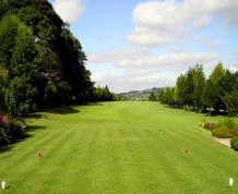 View over Ballyclare Golf Club