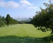 View over Carmarthen Golf Club
