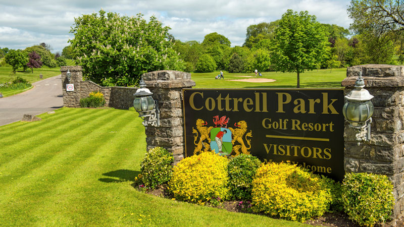 View over Cottrell Park Golf Resort