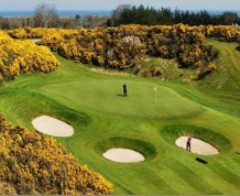View over Druids Glen Golf Club