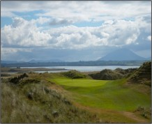 View over Enniscrone Golf Club