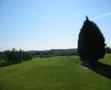 View over Fairwood Park Golf Club