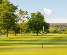 View over Glynhir Golf Club