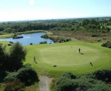View over Gracehill Golf Club