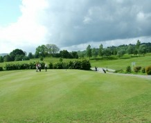 View over Old Padeswood Golf Club