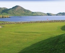 View over Skellig Bay Golf Club