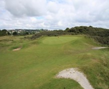 View over Tenby Golf Club