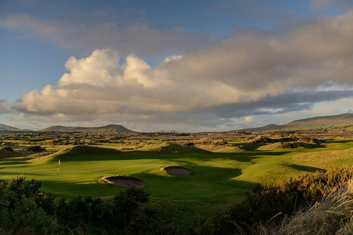 View over Waterville Golf Links