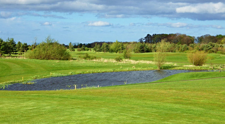 Longhirst Hall Golf Course