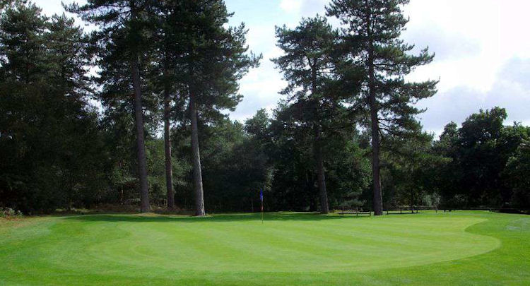 moors valley golf course dorset english golf courses. Black Bedroom Furniture Sets. Home Design Ideas
