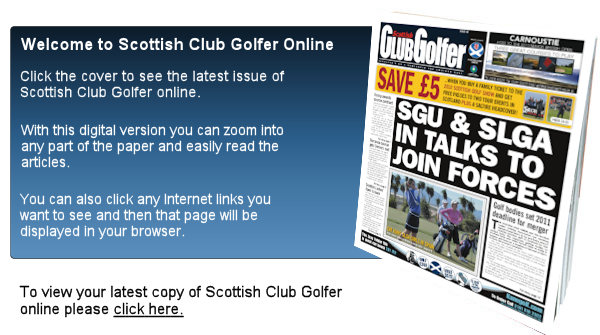 Latest Issue of Scottish Club Golfer is now available